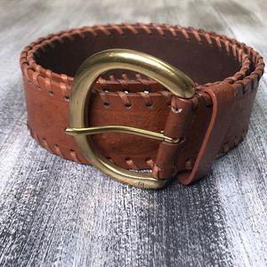 Chaps Leather Belt